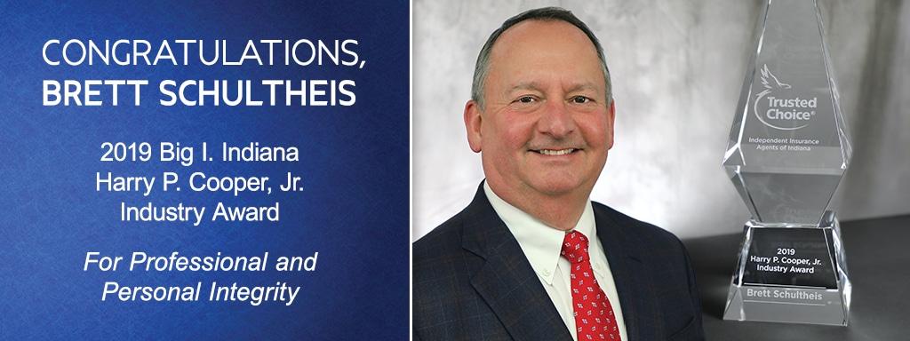 Congratulation Brett Schultheis - Harry P. Cooper, Jr. Industry Award